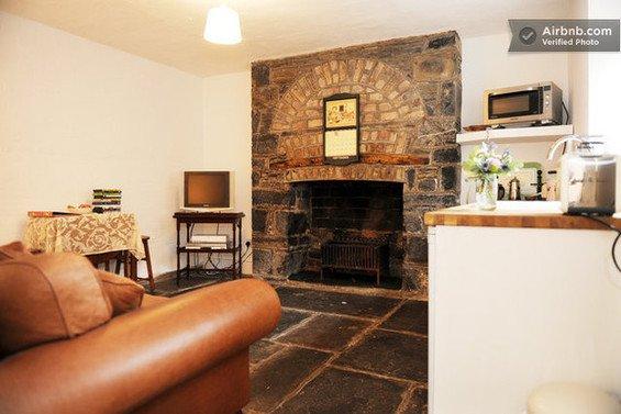 Фотография: Гостиная в стиле Современный, Декор интерьера, Квартира, Дом, Декор дома, Airbnb, Камины – фото на INMYROOM