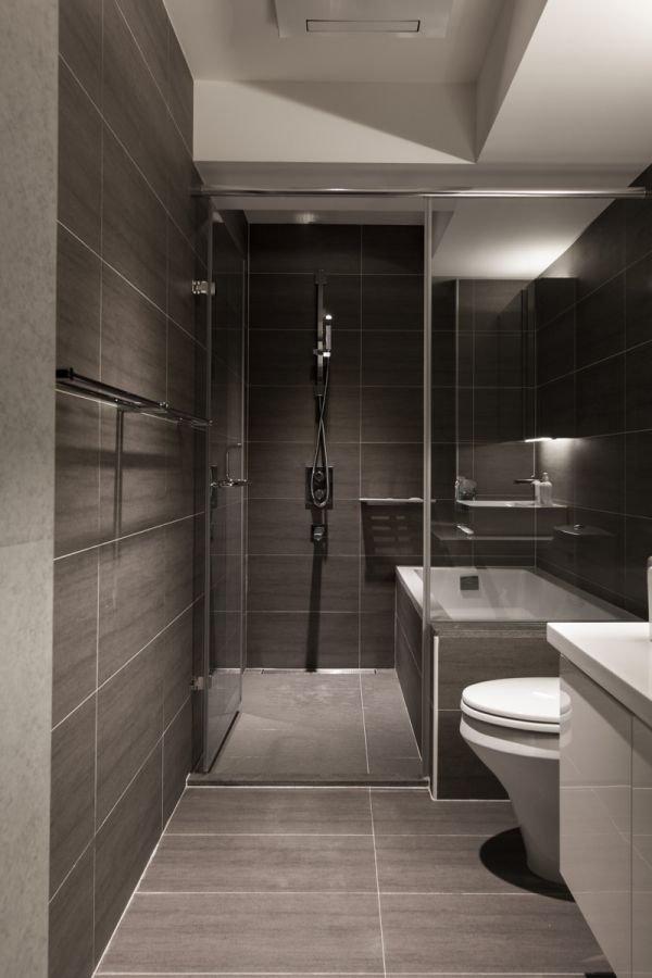 Фотография: Ванная в стиле Современный, Квартира, Дом, Ремонт на практике – фото на INMYROOM