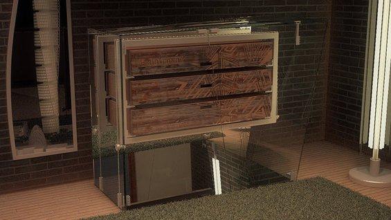 Фотография: Ванная в стиле Эко, Декор интерьера, Мебель и свет – фото на INMYROOM