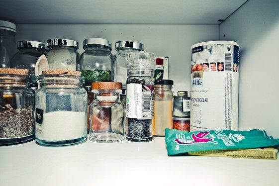Фотография:  в стиле , Кухня и столовая, Декор интерьера, Квартира, Мебель и свет, Дома и квартиры, Ремонт – фото на InMyRoom.ru