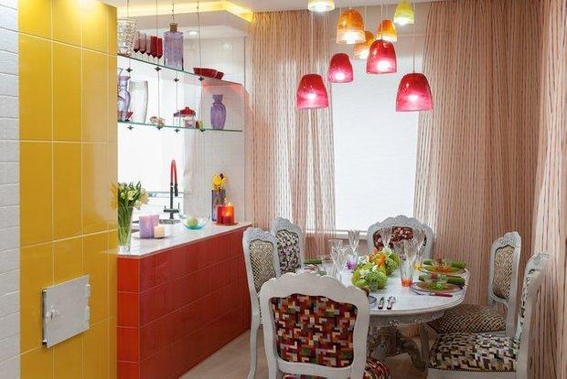Фотография: Кухня и столовая в стиле Эклектика, Дом, Дома и квартиры – фото на INMYROOM