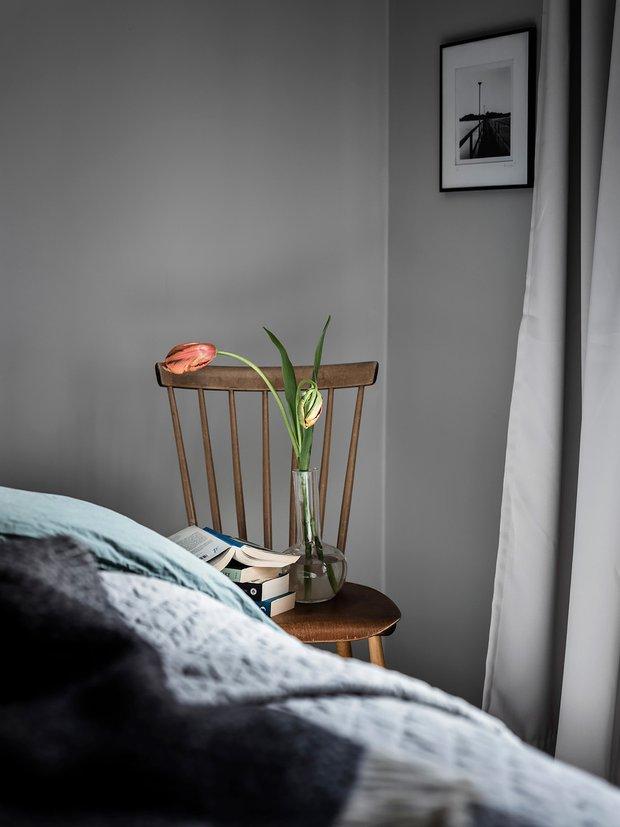 Фотография: Декор в стиле Скандинавский, Декор интерьера, Квартира, Планировки, Белый, Синий, Серый, Эко, 2 комнаты – фото на INMYROOM