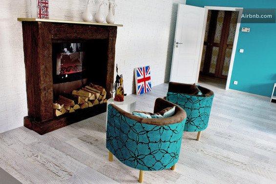 Фотография: Прочее в стиле Прованс и Кантри, Декор интерьера, Квартира, Дом, Декор дома, Airbnb, Камины – фото на InMyRoom.ru