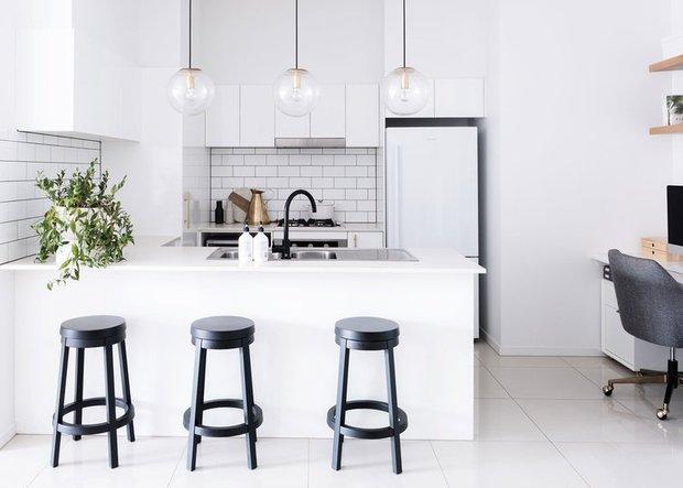 Фотография: Кухня и столовая в стиле Скандинавский, Гостиная, Спальня, Декор интерьера, Квартира, Австралия, Розовый, Голубой – фото на INMYROOM