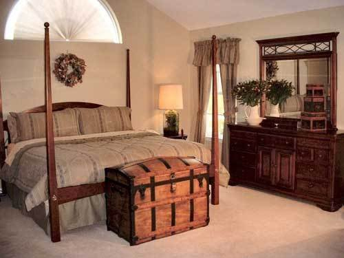 Фотография: Спальня в стиле Прованс и Кантри, Эклектика, Дом, Дома и квартиры, Колониальный – фото на INMYROOM