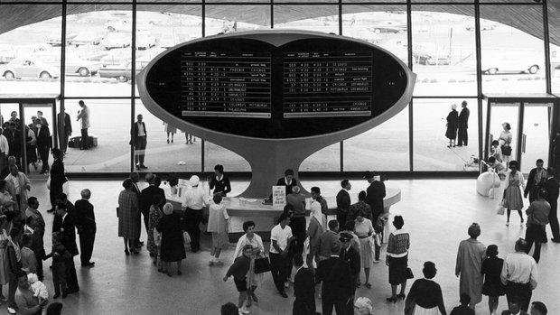 Аэропорт JFK, Нью-Йорк, 1960-е