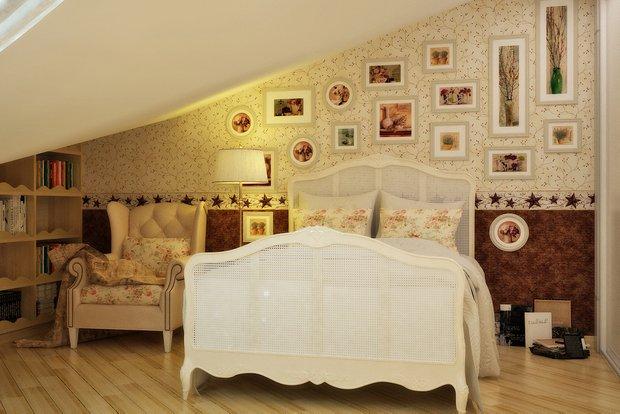 Фотография: Спальня в стиле Прованс и Кантри, Современный, Эклектика, Квартира, Аксессуары, Декор, Мебель и свет, Советы – фото на INMYROOM