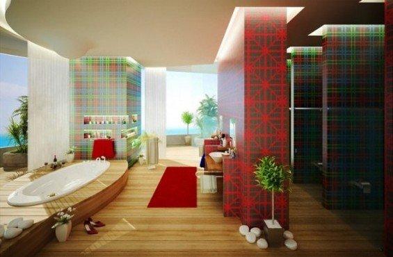 Фотография: Ванная в стиле Современный, Эко, Декор интерьера, Декор дома, Прованс, Пол – фото на INMYROOM