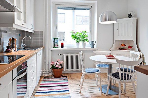 Фотография: Кухня и столовая в стиле Скандинавский, Планировки, Советы – фото на INMYROOM