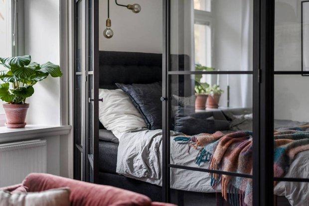 Фотография: Спальня в стиле Скандинавский, Квартира, Советы, 40-60 метров – фото на INMYROOM