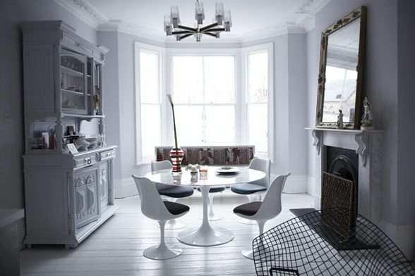 Фотография: Кухня и столовая в стиле Современный, Дом, Дома и квартиры, Минимализм, Фьюжн, Пэчворк – фото на INMYROOM