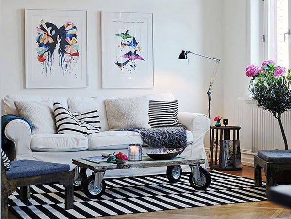 Фотография: Гостиная в стиле Лофт, Скандинавский, Декор интерьера, Декор, Советы – фото на INMYROOM