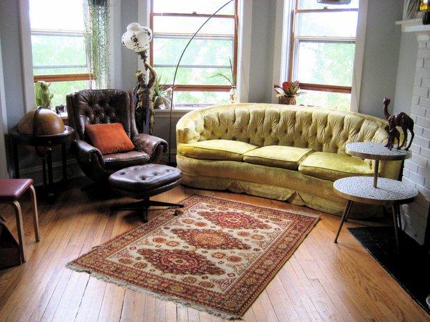 Фотография: Гостиная в стиле , Декор интерьера, Декор дома, Пол – фото на INMYROOM