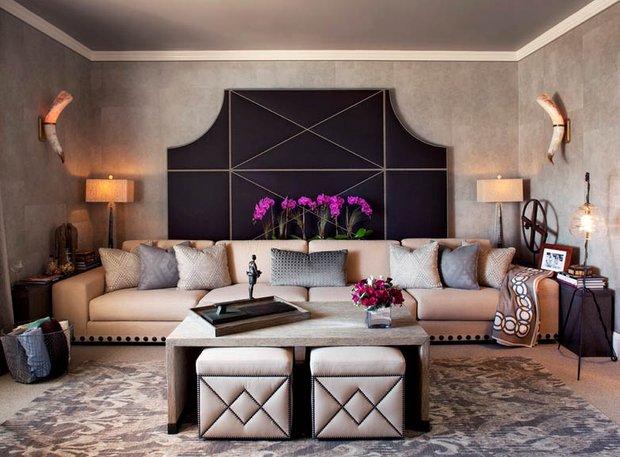 Фотография: Гостиная в стиле Восточный, Интерьер комнат, Советы – фото на INMYROOM