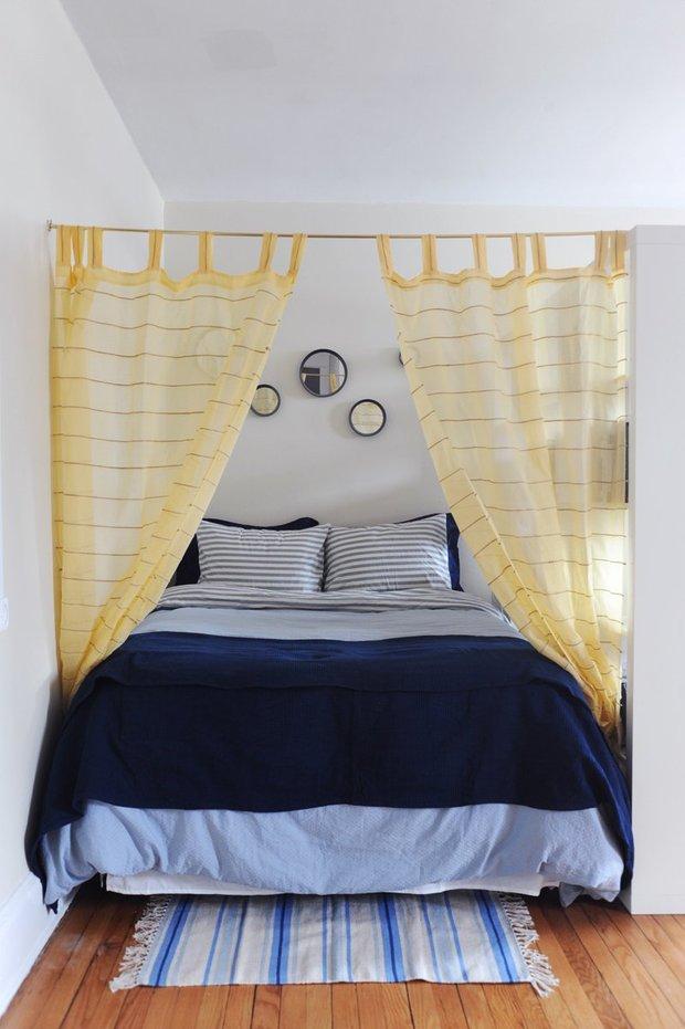 Фотография: Спальня в стиле Скандинавский, Малогабаритная квартира, Квартира, Дома и квартиры, IKEA – фото на INMYROOM