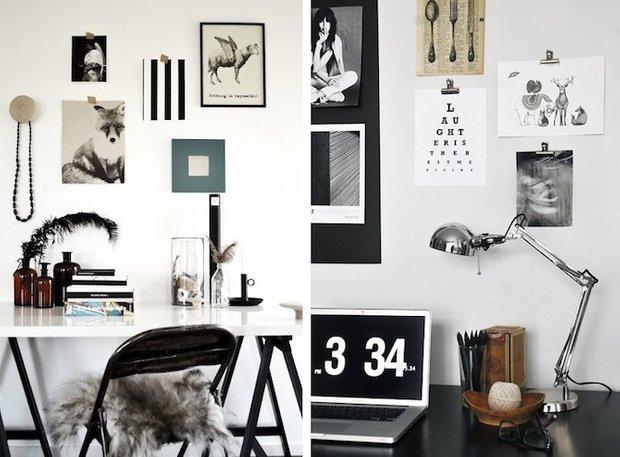 Фотография: Прочее в стиле , Кабинет, Скандинавский, Интерьер комнат – фото на INMYROOM