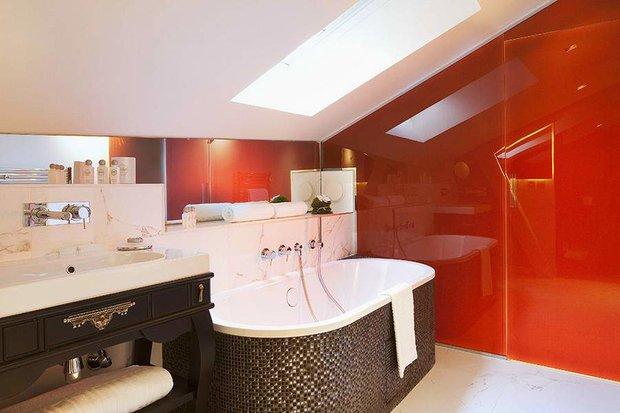 Фотография: Ванная в стиле Современный, Спальня, Франция, Дома и квартиры, Городские места, Отель – фото на INMYROOM