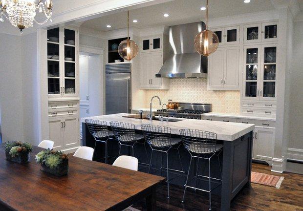 Фотография: Ванная в стиле Лофт, Кухня и столовая, Интерьер комнат, Проект недели – фото на INMYROOM