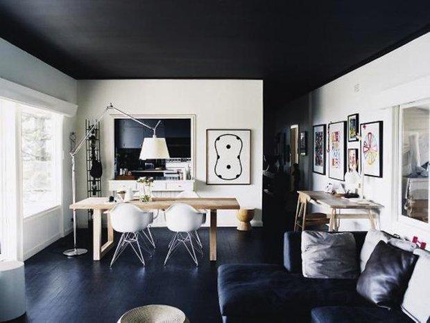 Фотография: Гостиная в стиле Лофт, Современный, Декор интерьера, Дизайн интерьера, Цвет в интерьере – фото на INMYROOM