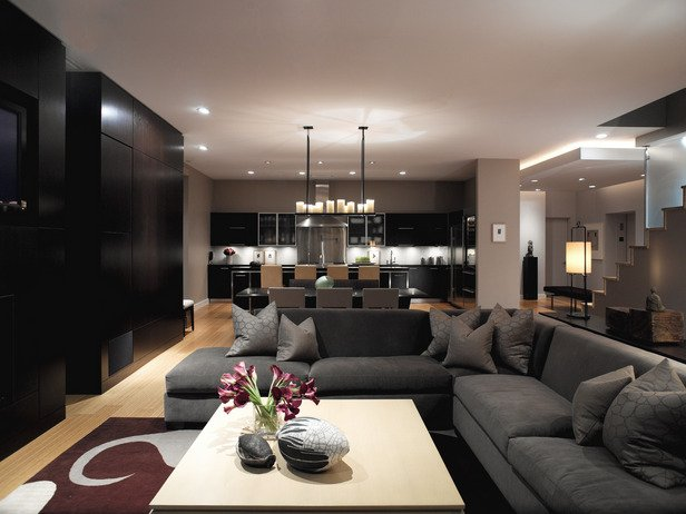 Фотография: Гостиная в стиле Современный, Декор интерьера, Дизайн интерьера, Цвет в интерьере – фото на INMYROOM