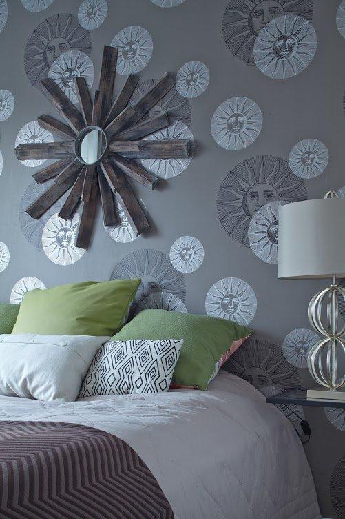 Фотография: Спальня в стиле Современный, Скандинавский, Квартира, Цвет в интерьере, Дома и квартиры, Перепланировка, Серый – фото на INMYROOM