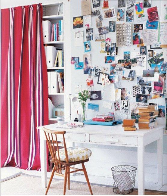 Фотография: Офис в стиле Современный, Декор интерьера, Дом, Декор дома, Системы хранения, Шторы – фото на INMYROOM