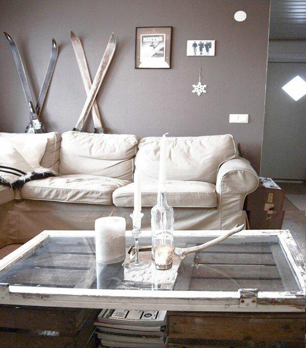Фотография: Гостиная в стиле Скандинавский, Декор интерьера, Декор дома, Журнальный столик – фото на INMYROOM