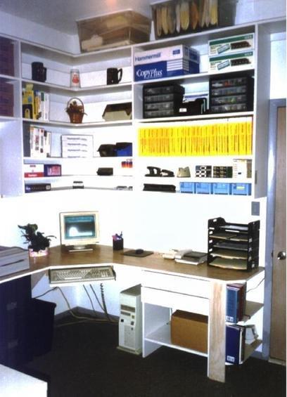 Фотография:  в стиле , Кабинет, Интерьер комнат, Системы хранения – фото на INMYROOM