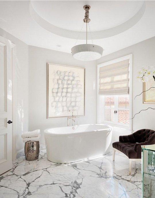 Фотография:  в стиле , Декор интерьера, Декор, Советы, Margraf, натуральный камень в интерьере, мозаика в интерьере, мозаичное панно в интерьере, плитка из натурального камня, натуральный камень в слэбе – фото на InMyRoom.ru