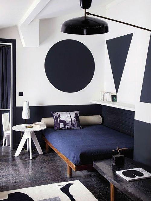 Фотография: Спальня в стиле Хай-тек, Классический, Современный, Декор интерьера, Декор дома, Цвет в интерьере, Советы, Картина, Неоклассика – фото на INMYROOM