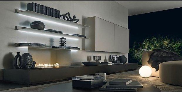 Фотография: Гостиная в стиле Современный, Восточный, Декор интерьера, Мебель и свет, Мягкая мебель – фото на INMYROOM