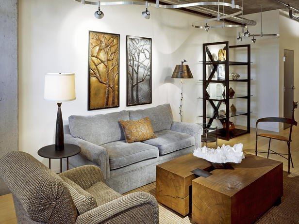 Фотография: Гостиная в стиле Лофт, Декор интерьера, Мебель и свет, Советы – фото на INMYROOM