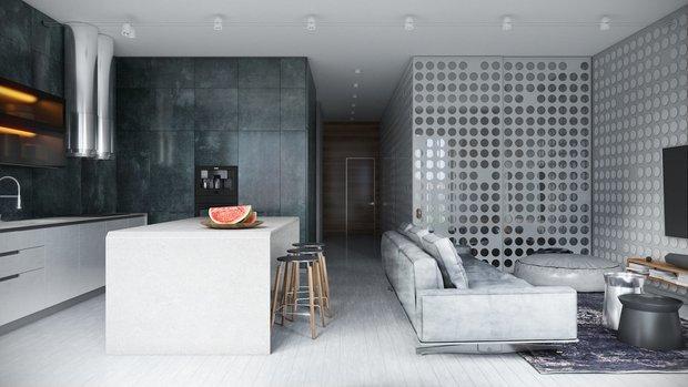 Дизайн: Павел Личик и Анастасия Иванова, дизайн-студия Kameleono