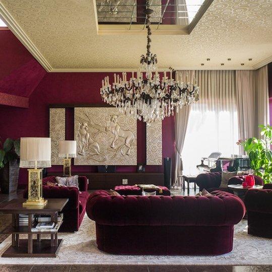 Фотография: Гостиная в стиле Классический, Современный, Декор интерьера, Дизайн интерьера, Марат Ка, Декоративная штукатурка, Альтокка – фото на INMYROOM