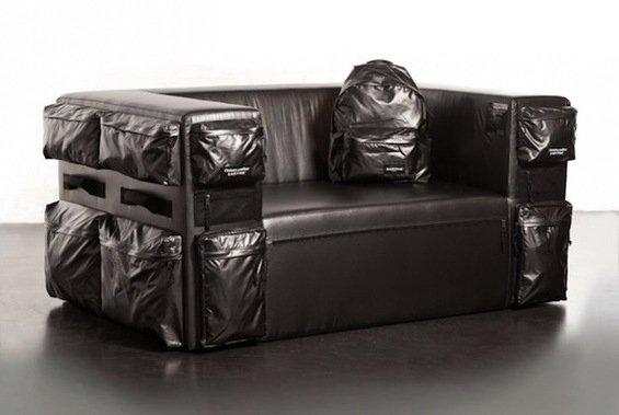 Фотография:  в стиле , Декор интерьера, Мебель и свет, Диван – фото на InMyRoom.ru