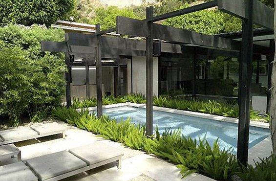 Фотография: Терраса в стиле Современный, Дома и квартиры, Интерьеры звезд – фото на INMYROOM