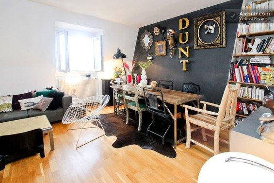 Фотография: Спальня в стиле Скандинавский, Декор интерьера, Малогабаритная квартира, Квартира, Дома и квартиры, Airbnb – фото на INMYROOM