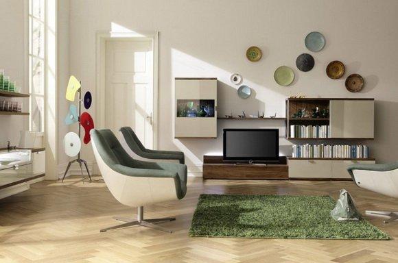 Фотография: Гостиная в стиле Современный, Декор интерьера, Дизайн интерьера, Цвет в интерьере, Dulux, ColourFutures, Akzonobel – фото на INMYROOM