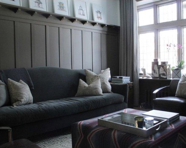Фотография: Гостиная в стиле Прованс и Кантри, Дом, Дома и квартиры, Перепланировка, Переделка – фото на INMYROOM