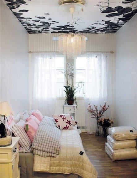 Фотография: Спальня в стиле Современный, Эклектика, Малогабаритная квартира, Квартира, Дома и квартиры – фото на INMYROOM
