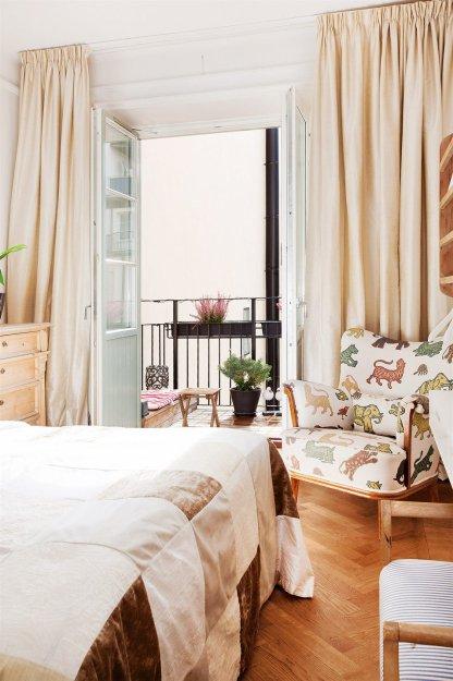 Фотография: Спальня в стиле Прованс и Кантри, Скандинавский, Малогабаритная квартира, Квартира, Дома и квартиры, Стокгольм – фото на InMyRoom.ru
