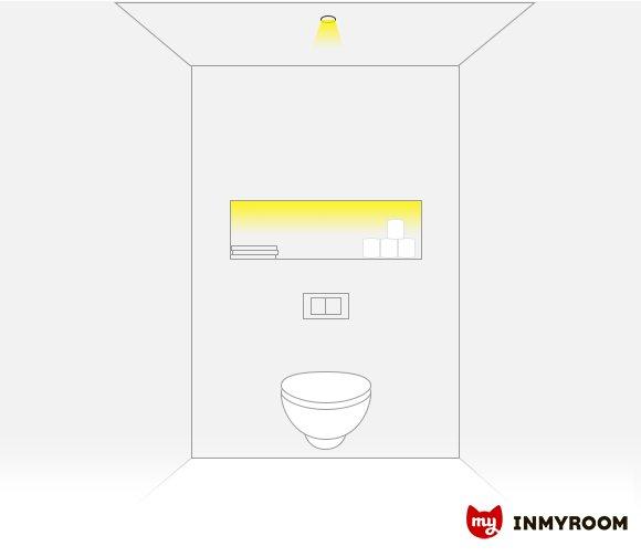 Фотография:  в стиле , Ванная, Советы, освещение ванной, Инфографика – фото на INMYROOM