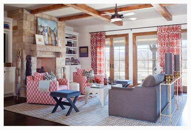 Фотография: Гостиная в стиле Прованс и Кантри, Классический, Современный, Декор интерьера, Цвет в интерьере, Индустрия, Новости – фото на INMYROOM