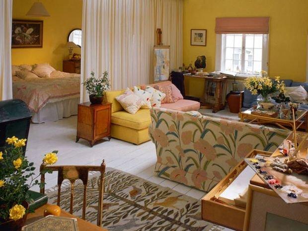 Фотография: Гостиная в стиле Прованс и Кантри, Декор интерьера, Малогабаритная квартира, Квартира, Студия – фото на INMYROOM