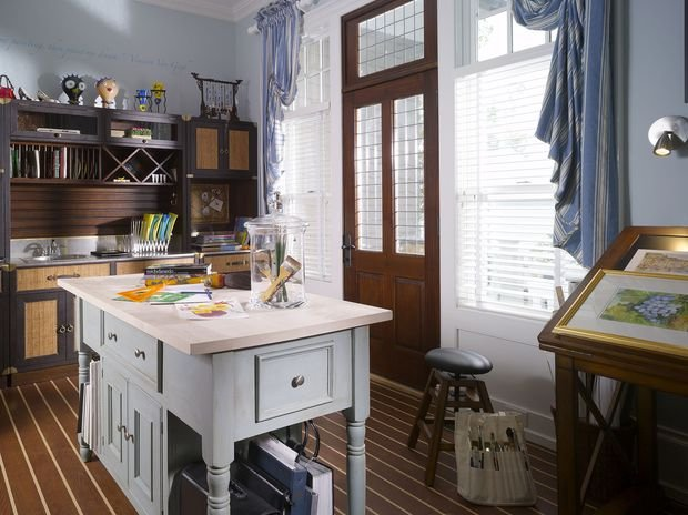 Фотография: Кабинет в стиле Прованс и Кантри, Декор интерьера, Квартира, Дом, Декор, Особняк – фото на INMYROOM