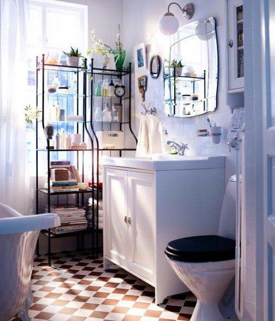 Фотография: Ванная в стиле , Интерьер комнат, Советы, IKEA, Зеркала – фото на INMYROOM