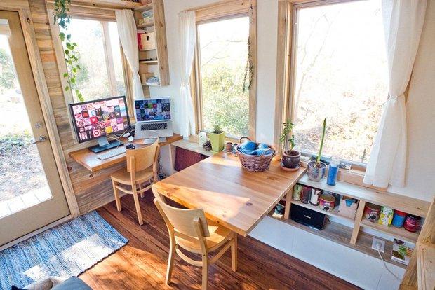 Фотография: Офис в стиле Современный, Дом, Дома и квартиры, Эко, Дом на колесах – фото на INMYROOM