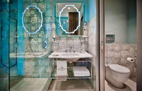 Фотография: Ванная в стиле Восточный, Дома и квартиры, Городские места, Отель, Модерн, Милан, Замок – фото на INMYROOM