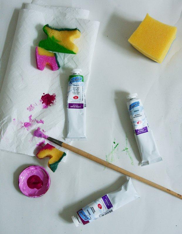 Фотография: Прочее в стиле , Детская, Декор интерьера, DIY, Стены, Цветы, Роспись, Краски – фото на InMyRoom.ru