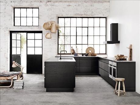 Фотография: Кухня и столовая в стиле Лофт, Декор интерьера, Квартира, Дом, Интерьер комнат, Цвет в интерьере, Белый – фото на INMYROOM